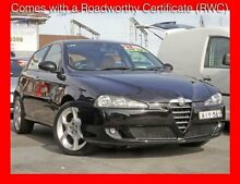 2006 Alfa Romeo 147 Facelift Selespeed ** Low 118,000 Kms * 5 Speed Automatic Selespeed Hatchback Granville Parramatta Area Preview