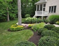 General Landscaping, Grass Cutting, Mulch, Property Clean Up