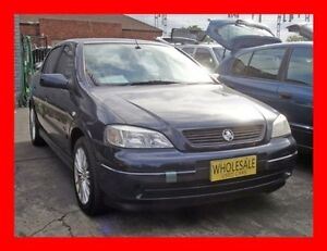 2002 Holden Astra TS City Midnight Blue 5 Speed Manual Hatchback Granville Parramatta Area Preview