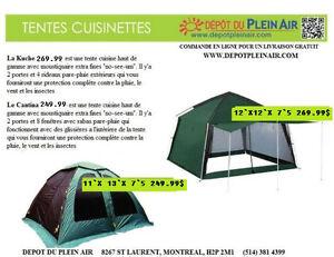Neufs! Tente,Cuisinette, Abri Mousticaire, Dinette IMPERMEABLE!! City of Montréal Greater Montréal image 1