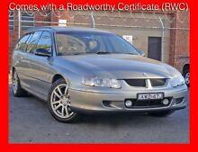 2002 Holden Commodore VX II Acclaim Dual Fuel !!! 4 Speed Automatic Wagon Granville Parramatta Area Preview