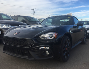 2017 FAIT SPIDER 124 ABARTH TURBO CONVERTIBLE 0% 84 MONTHS !!