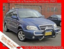 2004 Kia Carnival KV11 LS Free 3 Year Warranty 4 Speed Automatic Wagon Granville Parramatta Area Preview