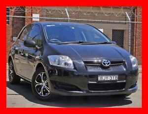 2009 Toyota Corolla ZRE152R Ascent Black 6 Speed Manual Hatchback Granville Parramatta Area Preview