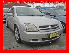 2003 Holden Vectra ZC Cdxi Silver 5 Speed Automatic Hatchback Granville Parramatta Area Preview