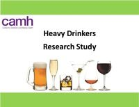 Heavy Drinkers (Male, Age 19-35) Wanted for Research