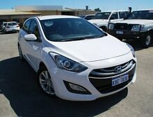 2012 Hyundai i30 GD Elite White 6 Speed Sports Automatic Hatchback Bellevue Swan Area Preview