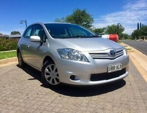 2011 Toyota Corolla ZRE152R MY11 Ascent Silver 4 Speed Automatic Hatchback Ingle Farm Salisbury Area Preview