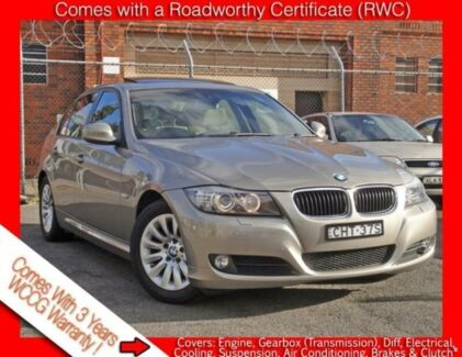 2009 BMW 320i E90 MY09 Executive Champagne Gold 6 Speed Auto Steptronic Sedan