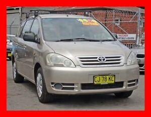 2001 Toyota Avensis ACM20R Verso GLX Family Van + 7 Seatr 4 Speed Automatic Wagon Granville Parramatta Area Preview