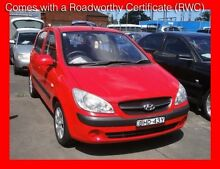 2008 Hyundai Getz TB MY09 S *** Cheap !!!!! *** 5 Speed Manual Hatchback Granville Parramatta Area Preview