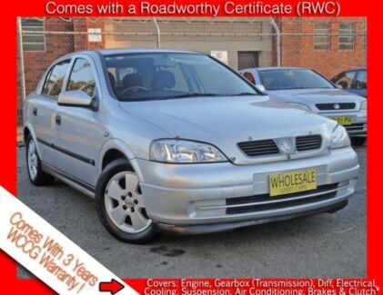 2002 Holden Astra TS CD Free 3 Year Warranty 4 Speed Automatic Hatchback Granville Parramatta Area Preview