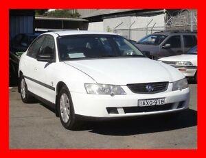 2002 Holden Commodore VY Executive White 4 Speed Automatic Sedan Granville Parramatta Area Preview