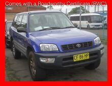 1999 Toyota RAV4 MAX Blue 4 Speed Automatic 4x4 Wagon Granville Parramatta Area Preview