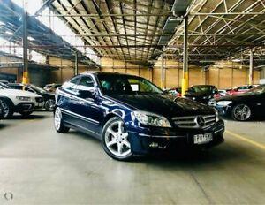 2009 Mercedes-Benz CLC-Class CL203 CLC200 Kompressor Evolution + Blue 5 Speed Automatic Coupe Port Melbourne Port Phillip Preview