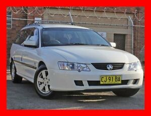 2003 Holden Commodore VY Acclaim White 4 Speed Automatic Wagon Granville Parramatta Area Preview