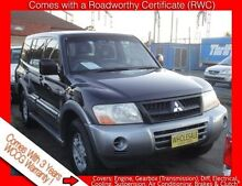 2003 Mitsubishi Pajero NP GLS LWB (4x4) Black 5 Speed Auto Sports Mode Wagon Granville Parramatta Area Preview