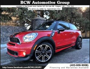2014 MINI Cooper Paceman S AWD JCW Package Warranty Must See!