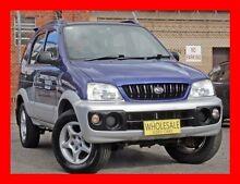 2001 Daihatsu Terios SX (4x4) ** Low 159,000 Kms * 4 Speed Automatic 4x4 Wagon Granville Parramatta Area Preview