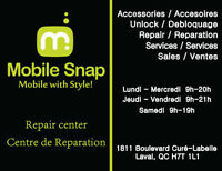 Sales & Repairs Cell phones / Ventes et Reparations Cellulaires