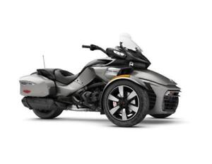 New Non Current 2017 Can-Am Spyder F3-T
