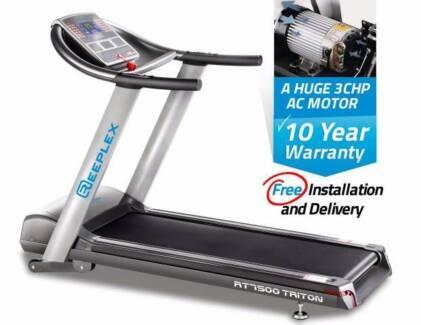 New Treadmill 3.00hp AC Motor L/Commercial + 10YR Motor Warranty