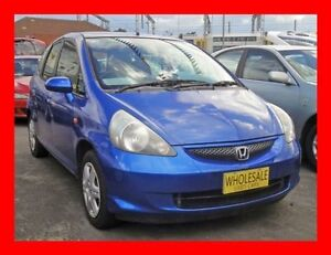 2006 Honda Jazz MY06 GLi Blue Continuous Variable Hatchback Granville Parramatta Area Preview