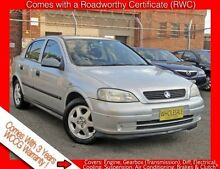 2001 Holden Astra TS CD ** Low 151,000 Kms * 5 Speed Manual Hatchback Granville Parramatta Area Preview