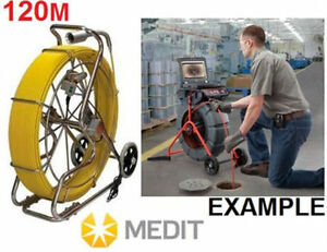 MEDIT PIPE, SEWER INSPECTION CAMERA - 120M CABLE PYTHON