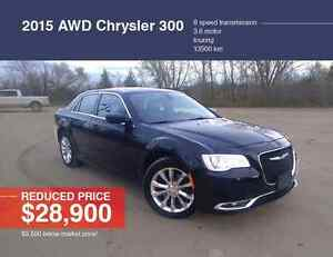 2015 AWD Chrysler 300 Touring Sedan