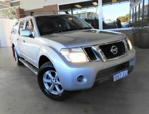 2012 Nissan Navara D40 MY12 ST (4x4) Silver 6 Speed Manual Dual Cab Pick-up St James Victoria Park Area Preview