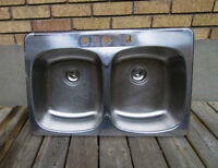 Double Kitchen Sink, Good Condition