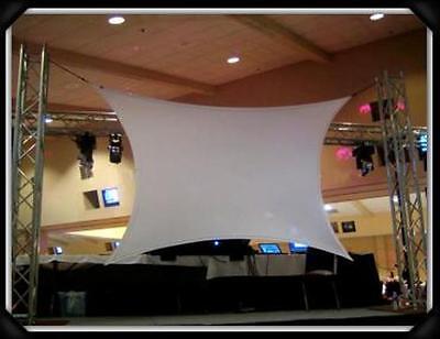Projection Screen Dj Screen Movie Screen 180 X 84 15 X 7 Frontrear