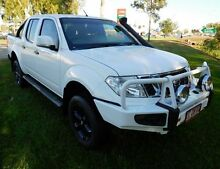 2013 Nissan Navara D40 S6 MY12 ST White 6 Speed Manual Utility Hidden Valley Darwin City Preview