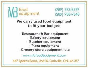 Used Restaurant, Bakery, Butcher, Food Store Equipment