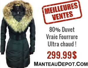 LIQUIDATION ON A LARGE VARIETY OF DUVET WINTER COATS!!