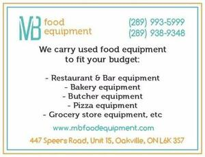 Used Restaurant, Bakery, Butcher Store Equipment  289 993 5999