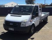 2006 Ford Transit Cab-Chassis Ute VM 140 T350 White Manual Woodville Charles Sturt Area Preview
