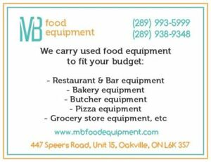 Used restaurant, bakery, butcher, convivience  store equipment