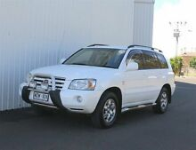 2003 Toyota Kluger MCU28R CVX (4x4) White 5 Speed Automatic Wagon Kadina Copper Coast Preview