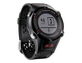"Garmin Approach S2 Golf GPS Watch ‑ 1"" Display ‑ Black/Red, £80"