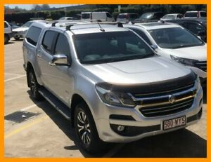 2016 Holden Colorado RG MY17 LTZ Pickup Crew Cab 4x2 Silver 6 Speed Sports Automatic Utility Hillcrest Logan Area Preview