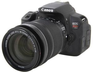 Canon EOS T5i Rebel + lens and full package