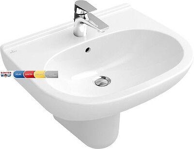 Villeroy & Boch Waschtisch Waschbecken O.NOVO 55 x 45 cm weiss Ceramicplus Villeroy Boch Waschtisch
