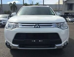 2014 Mitsubishi Outlander ZJ MY14.5 LS 4WD White 6 Speed Constant Variable Wagon Berrimah Darwin City Preview