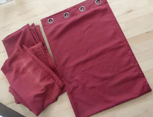 IKEA curtains $ 20, 2 pairs Bouclair curtains $ 10 per pair Kitchener / Waterloo Kitchener Area image 2