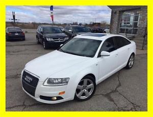 2007 AUDI A6 3.2L S-LINE *LEATHER,SUNROOF,NAVIGATION,LOADED!!!*