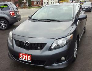 2010 Toyota Corolla S Sedan 2 YRS WARRANTY