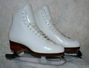 DON JACKSON DJ1100 COMPETITION ICE FIGURE SKATES WOMENS 6.5