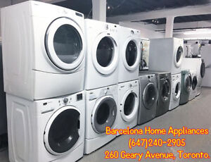 "SAVINGS BLOW OUT 27"" WASHER AND DRYER 699.00 FOR BOTH!"